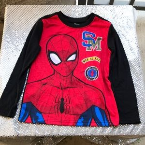 Spider-Man Kids PJ Top